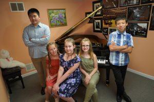 Piano Lessons in Studio
