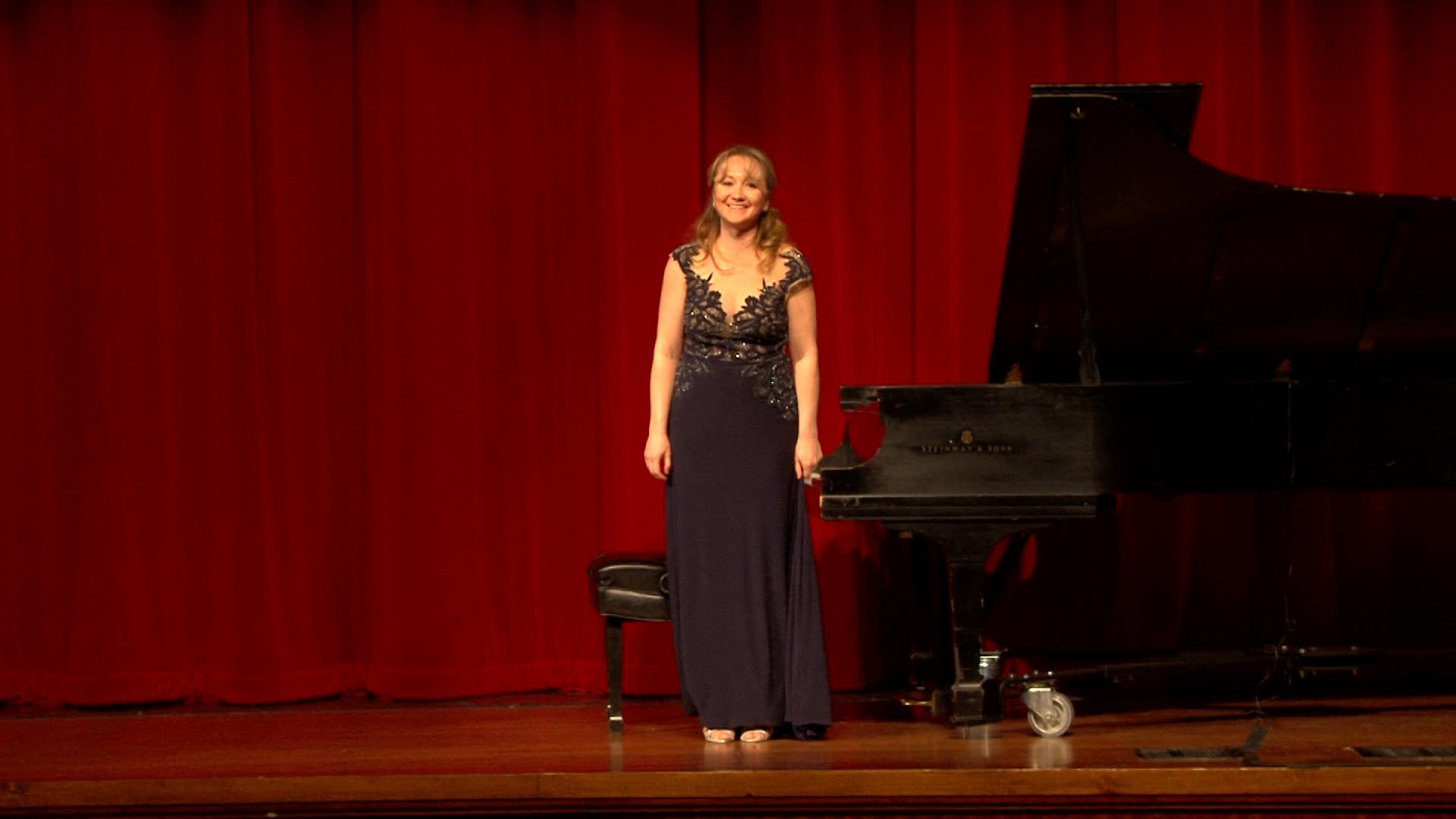 Recital at the Harold Washington Library, Chicago